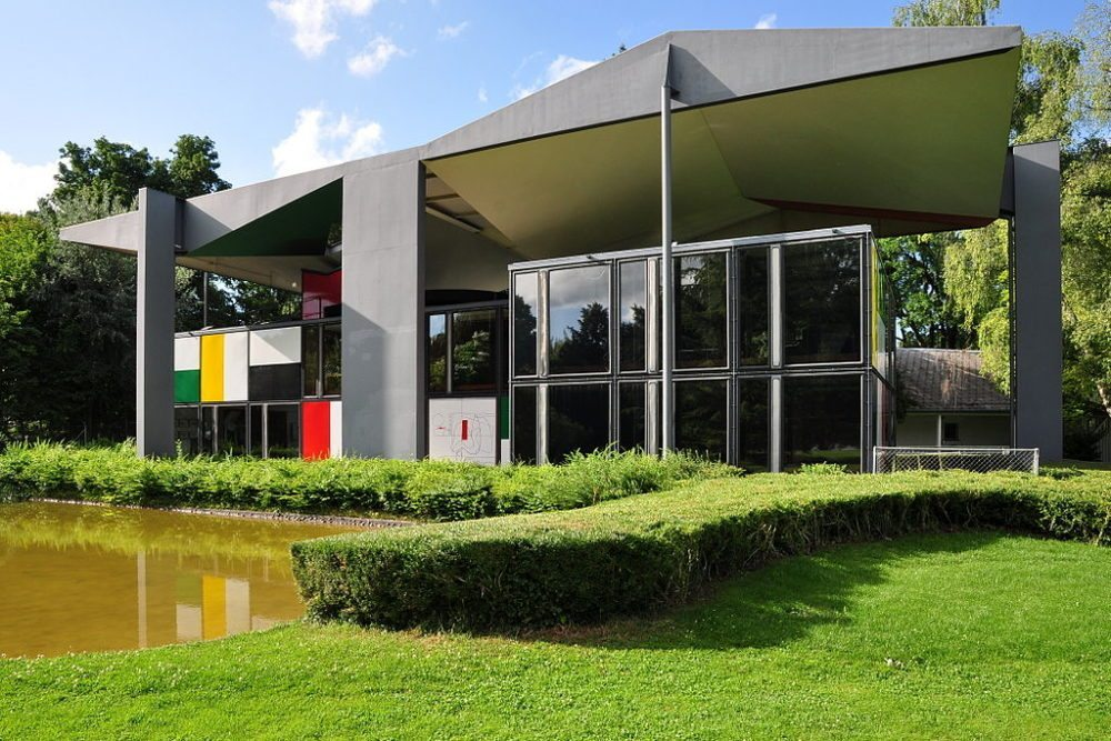 "Centre Le Corbusier (Heidi Weber Museum) in Zürich-Seefeld. (Urheber: Roland zh / Wiki / Lizenz: <a href=""https://creativecommons.org/licenses/by-sa/3.0/deed.en"">CC</a>)"